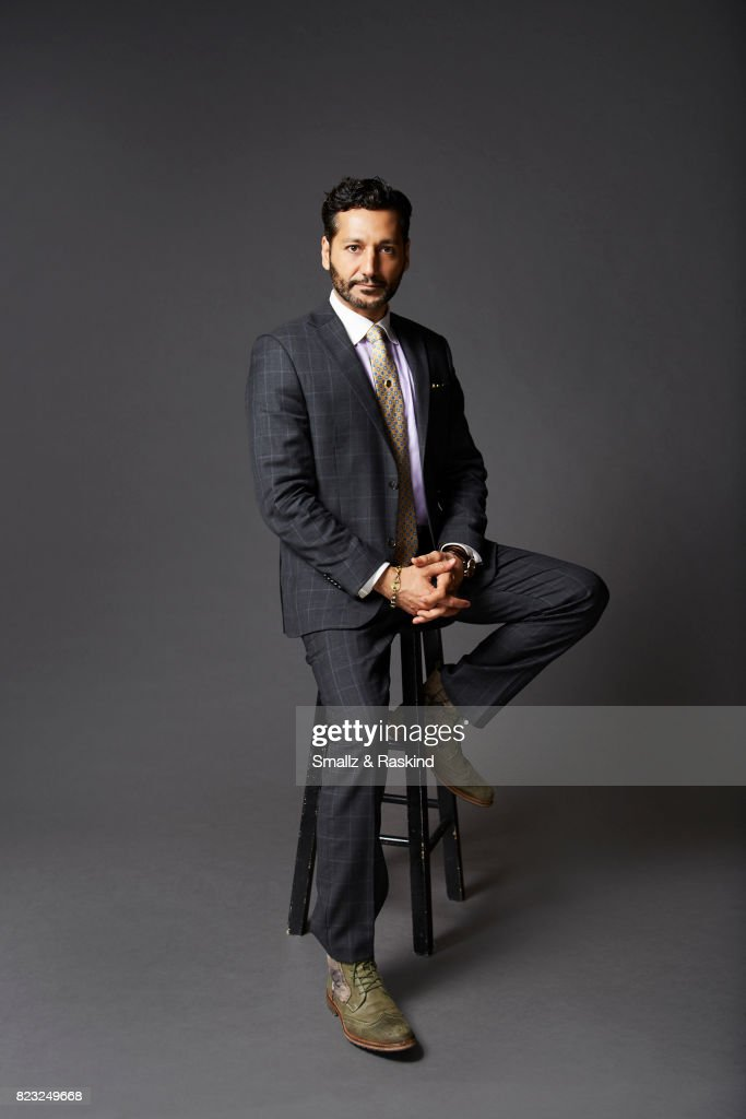 Actor Cas Anvar poses for portrait session at the 2017 Summer TCA session for SYFY's 'The Expanse' on July 25, 2017 in Beverly Hills, California.