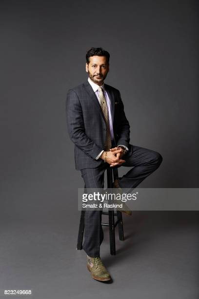 Actor Cas Anvar poses for portrait session at the 2017 Summer TCA session for SYFY's 'The Expanse' on July 25 2017 in Beverly Hills California