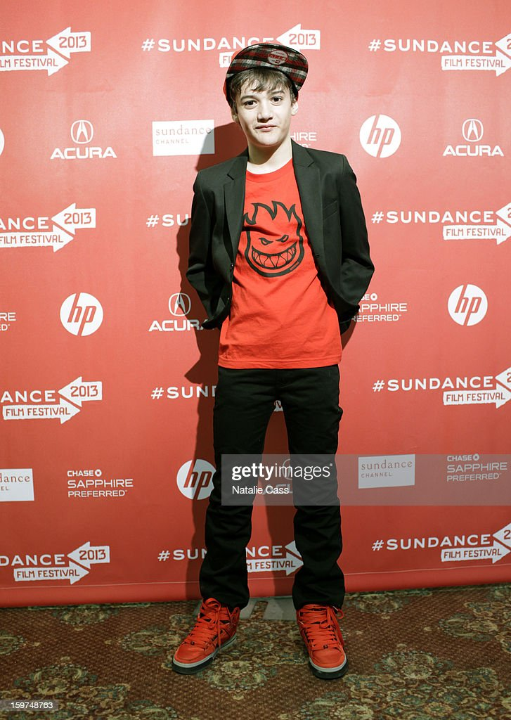 Actor Case Prime attends the 'It Felt Like Love' premiere at Yarrow Hotel Theater during the 2013 Sundance Film Festival on January 19, 2013 in Park City, Utah.