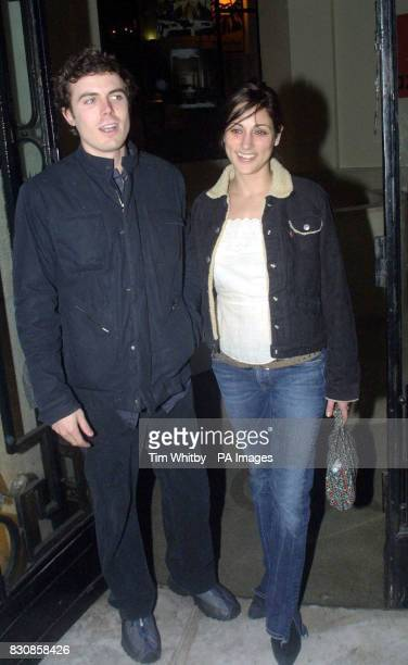 Actor Casey Affleck and actress Summer Phoenix arrives at the Axis restaurant in London for the aftershow party of 'Proof' The play opened at...
