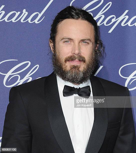 Actor Casey Affleck arrives at the 28th Annual Palm Springs International Film Festival Film Awards Gala at Palm Springs Convention Center on January...