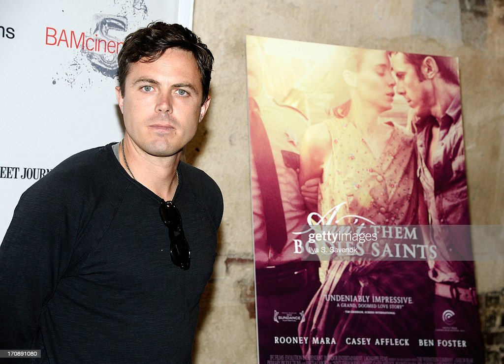 Actor Casey Affleck attends BAMcinemaFest 2013 and The Cinema Society host the Opening Night premiere of 'Ain't Them Bodies Saints' at BAM Harvey...
