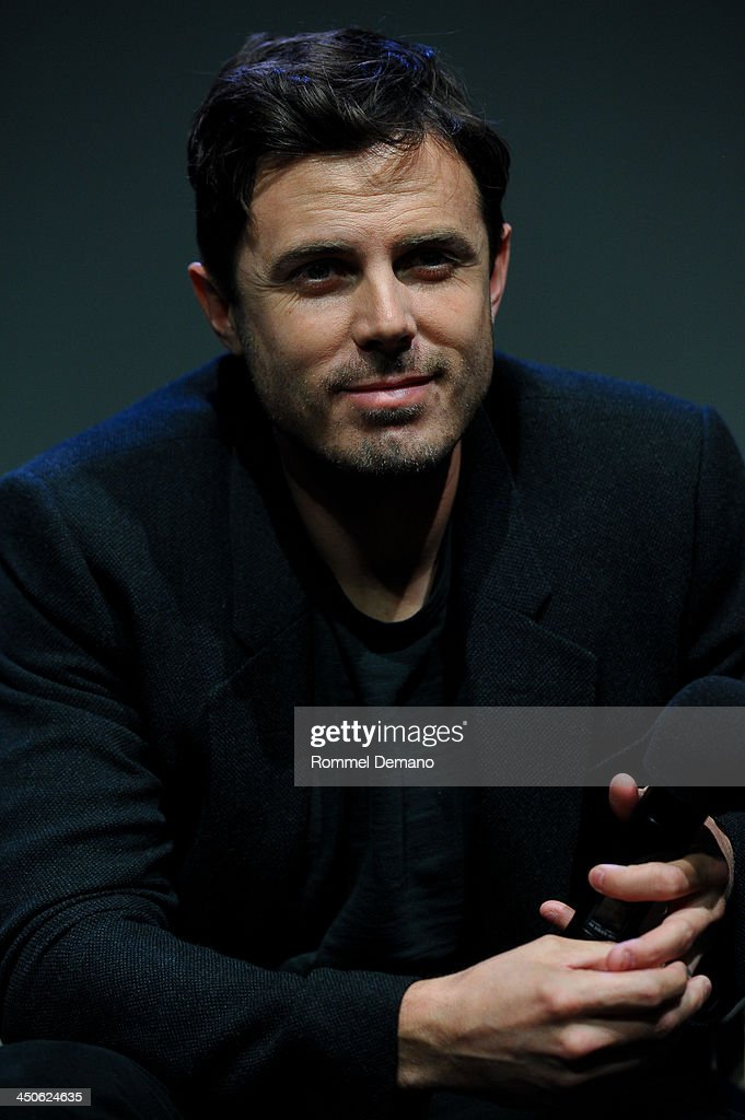 Actor Casey Affleck attends Meet the Filmmakers 'Out Of the Furnace' at the Apple Store Soho on November 19, 2013 in New York City.