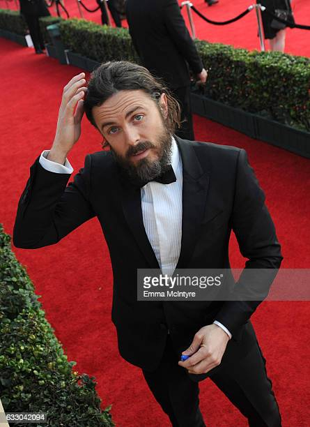 Actor Casey Affleck attends The 23rd Annual Screen Actors Guild Awards at The Shrine Auditorium on January 29 2017 in Los Angeles California 26592_016
