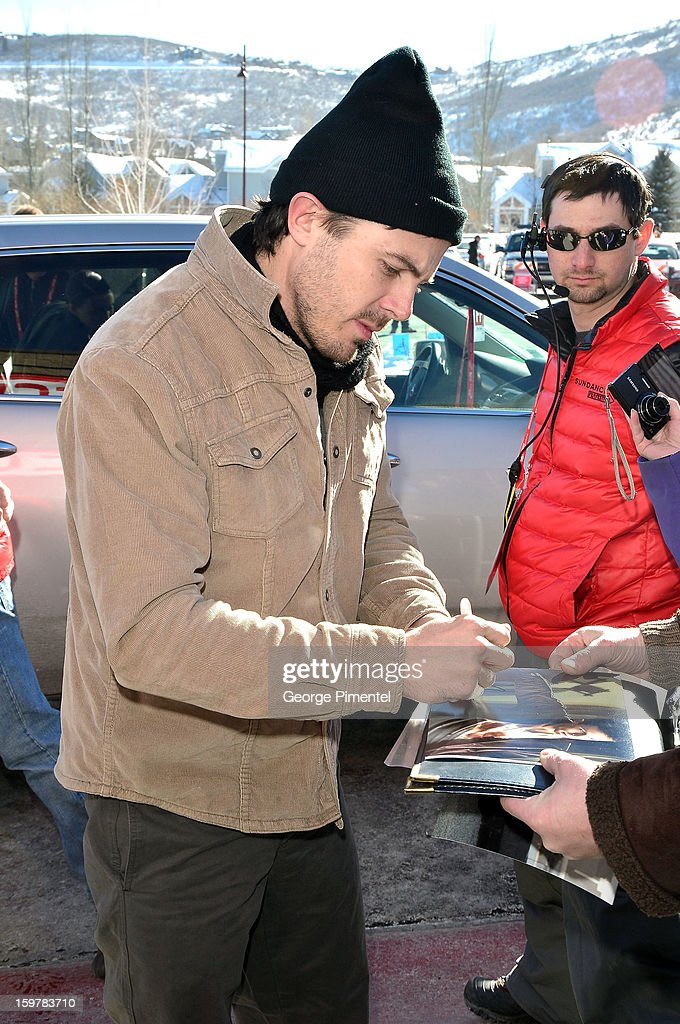 Actor Casey Affleck attends the 'Aint Them Bodies Saints' premiere at Eccles Center Theatre during the 2013 Sundance Film Festival on January 20, 2013 in Park City, Utah.