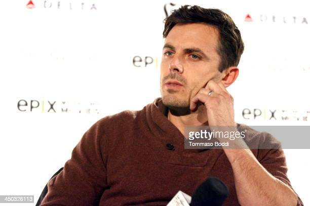 Actor Casey Affleck attends the LA Times Envelope Screening Series 'Out Of The Furnace' special screening and QA held at the ArcLight Sherman Oaks on...