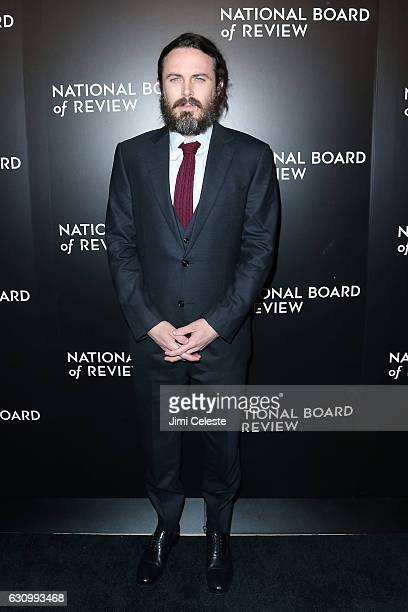 Actor Casey Affleck attends The National Board of Review Gala on January 4 2017 in New York City