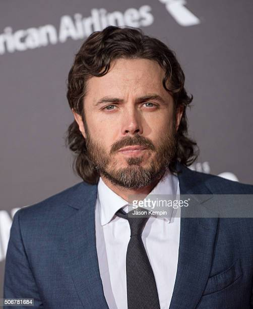 Actor Casey Affleck attends the premiere of Disney's 'The Finest Hours' at TCL Chinese Theatre on January 25 2016 in Hollywood California
