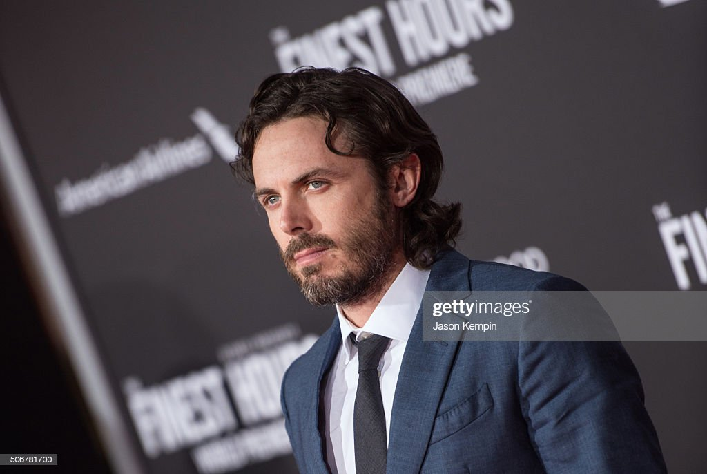 Actor Casey Affleck attends the premiere of Disney's 'The Finest Hours' at TCL Chinese Theatre on January 25, 2016 in Hollywood, California.