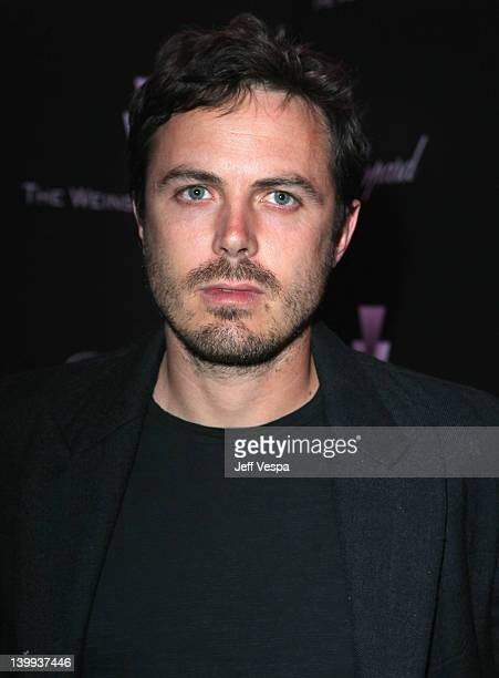 Actor Casey Affleck attends The Weinstein Company Celebrates The 2012 Academy Awards Presented By Chopard held at Soho House on February 25 2012 in...