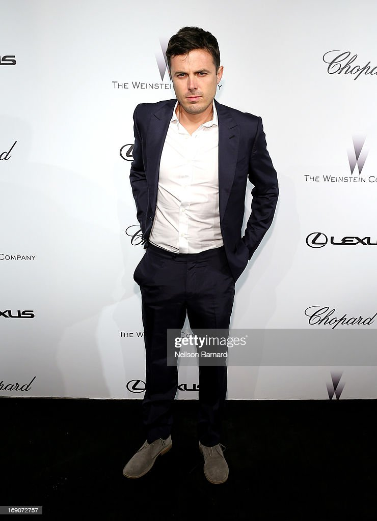 Actor <a gi-track='captionPersonalityLinkClicked' href=/galleries/search?phrase=Casey+Affleck&family=editorial&specificpeople=1539212 ng-click='$event.stopPropagation()'>Casey Affleck</a> attends The Weinstein Company Party in Cannes hosted by Lexus and Chopard at Baoli Beach on May 19, 2013 in Cannes, France.