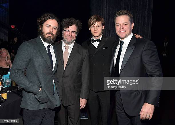 Actor Casey Affleck director Kenneth Lonergan actor Lucas Hedges and actor Matt Damon at the 22nd Annual Critics' Choice Awards presented by FIJI...