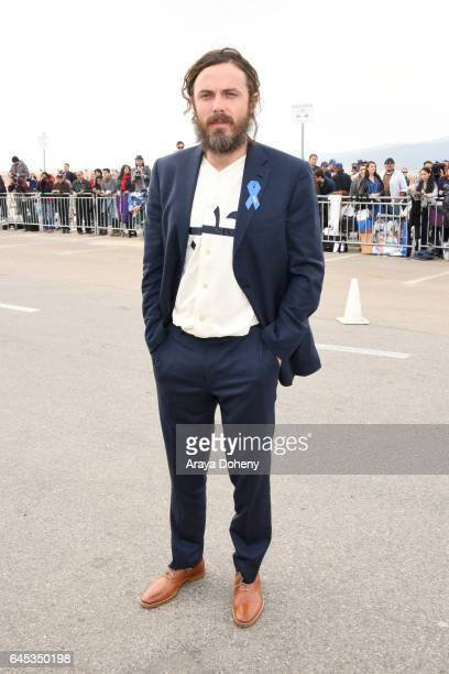 Actor Casey Affleck during the 2017 Film Independent Spirit Awards at the Santa Monica Pier on February 25 2017 in Santa Monica California