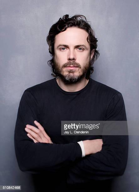 Actor Casey Affleck from the film 'Manchester by the Sea' poses for a portrait at the 2016 Sundance Film Festival on January 24 2016 in Park City...