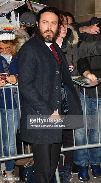Actor Casey Affleck is seen on January 4 2017 in New York City