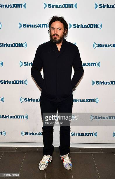Actor Casey Affleck visits SiriusXM Studio on November 17 2016 in New York City