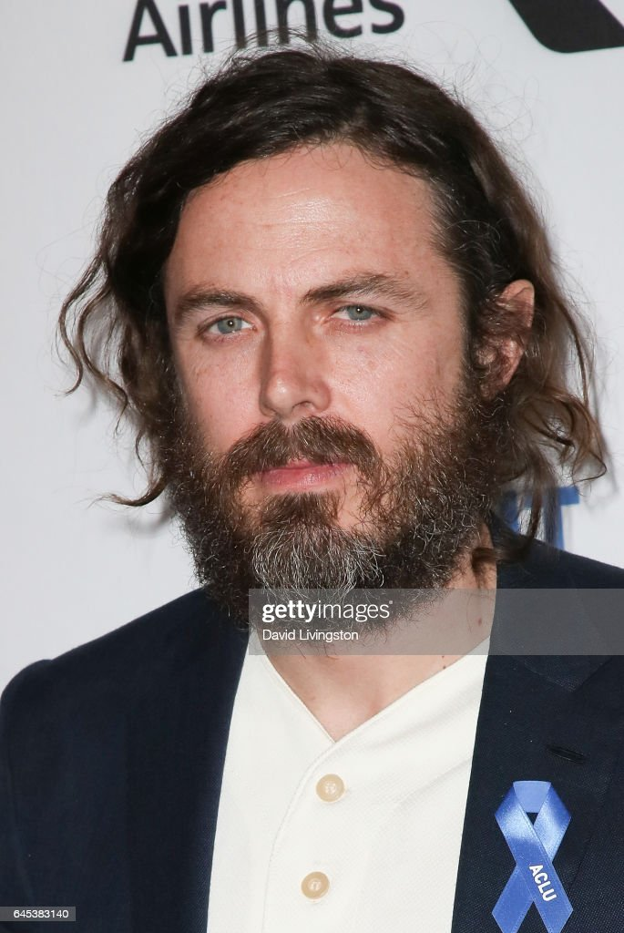Actor Casey Affleck, winner of the Best Male Lead award for 'Manchester by the Sea,' poses in the press room during the 2017 Film Independent Spirit Awards on February 25, 2017 in Santa Monica, California.