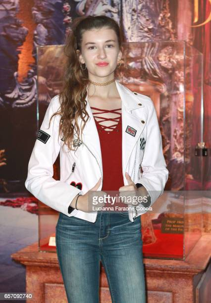 Actor Casey Burke attends Red Walk special screening of Disney's 'Beauty And The Beast' at El Capitan Theatre on March 23 2017 in Los Angeles...