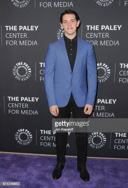 Actor Casey Cott arrives at the 2017 PaleyLive LA Spring Season 'Riverdale' Screening And Conversation at The Paley Center for Media on April 27 2017...