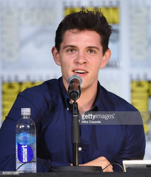 Actor Casey Cott attends 'Riverdale' special video presentation and QA during ComicCon International 2017 at San Diego Convention Center on July 22...