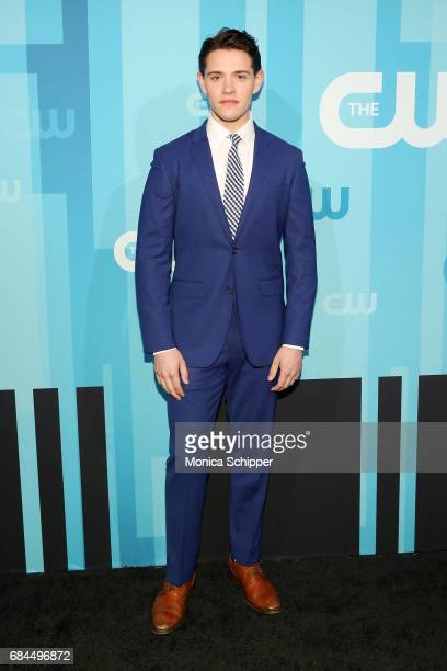 Actor Casey Cott attends the 2017 CW Upfront on May 18 2017 in New York City