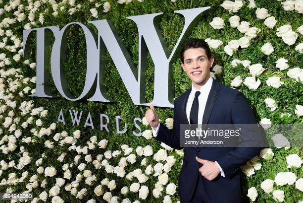 Actor Casey Cott attends the 2017 Tony Awards at Radio City Music Hall on June 11 2017 in New York City