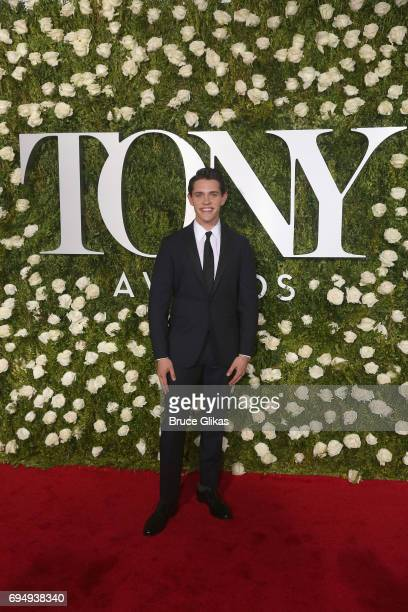 Actor Casey Cott attends the 71st Annual Tony Awards at Radio City Music Hall on June 11 2017 in New York City