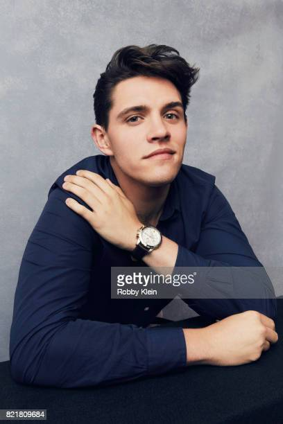 Actor Casey Cott from CW's 'Riverdale' poses for a portrait during ComicCon 2017 at Hard Rock Hotel San Diego on July 22 2017 in San Diego California