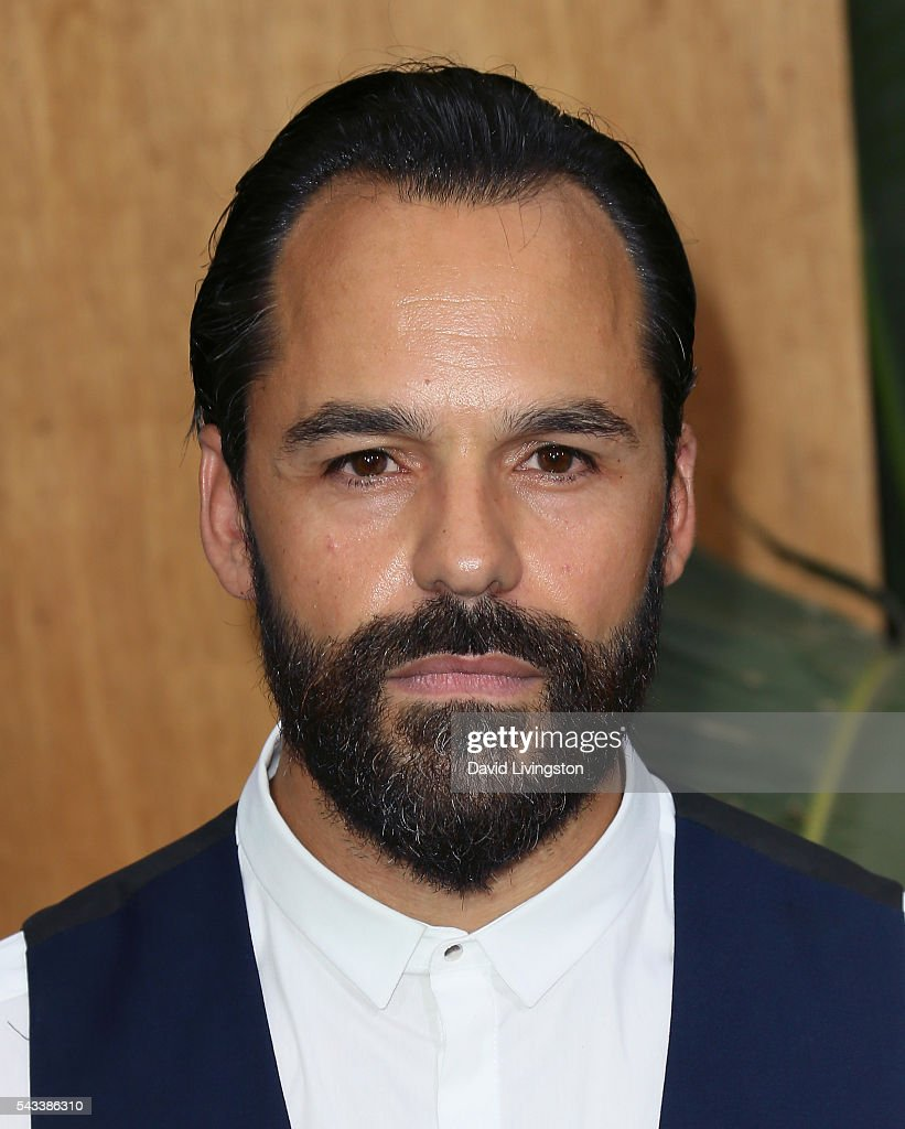 Actor Casper Crump attends the premiere of Warner Bros. Pictures' 'The Legend of Tarzan' at the Dolby Theatre on June 27, 2016 in Hollywood, California.