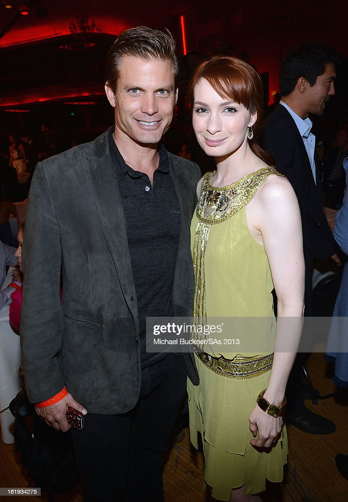 Actor Casper Van Dien (L) attends the 3rd Annual Streamy Awards at Hollywood Palladium on February 17, 2013 in Hollywood, California.