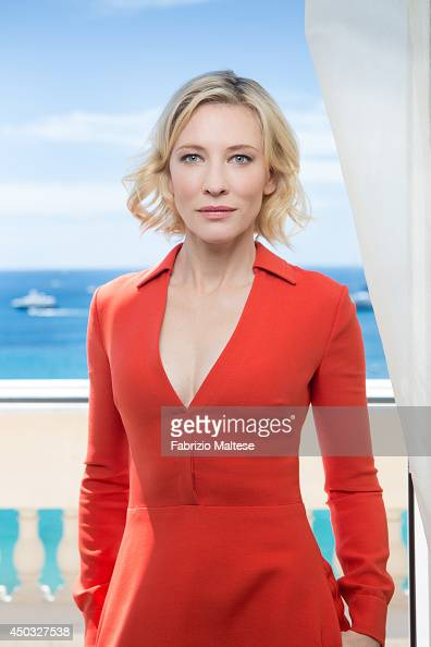 Actor Cate Blanchett is photographed for the Hollywood Reporter in Cannes France