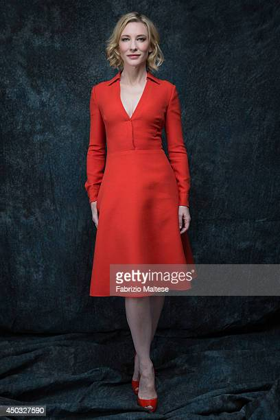 Actor Cate Blanchett is photographed in Cannes France
