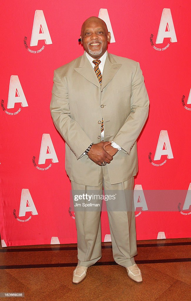 Actor <a gi-track='captionPersonalityLinkClicked' href=/galleries/search?phrase=Cecil+Fielder&family=editorial&specificpeople=220765 ng-click='$event.stopPropagation()'>Cecil Fielder</a> attends the 2013 Atlantic Theater Company Spring Gala at 583 Park Avenue on February 25, 2013 in New York City.