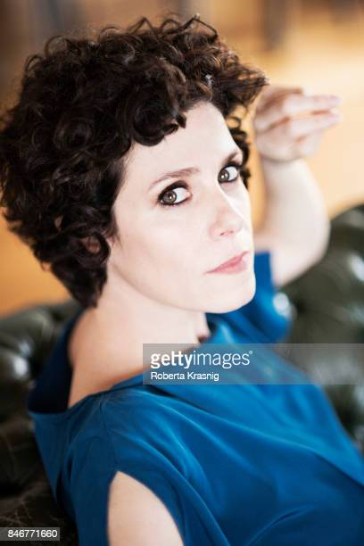 Actor Cecilia Dazzi is photographed on April 12 2016 in Rome Italy