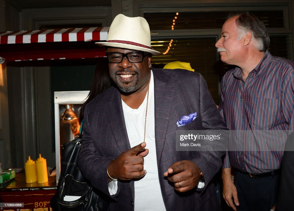 Actor <a gi-track='captionPersonalityLinkClicked' href=/galleries/search?phrase=Cedric+the+Entertainer&family=editorial&specificpeople=210583 ng-click='$event.stopPropagation()'>Cedric the Entertainer</a> attends the after party for TV Land's 'Hot in Cleveland' Live Show on June 19, 2013 in Studio City, California. (TV Land's Hot in Cleveland goes LIVE at 10:00pm ET in the first LIVE broadcast in the channel's history. Betty White, Jane Leeves, Wendie Malick and Valerie Bertinelli are joined by guest stars William Shatner (Star Trek), Shirley Jones (The Partridge Family), Daniel Pudi (Community) and Brian Baumgartner (The Office).