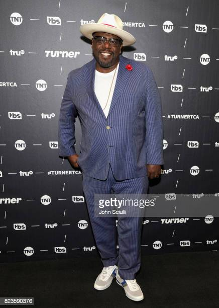 Actor Cedric the Entertainer of 'The Last OG' at the TCA Turner Summer Press Tour 2017 Green Room at The Beverly Hilton Hotel on July 27 2017 in...