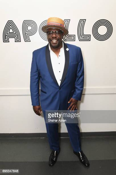 Actor Cedric the Entertainer poses backstage during Apollo Spring Gala 2017 at The Apollo Theater on June 12 2017 in New York City