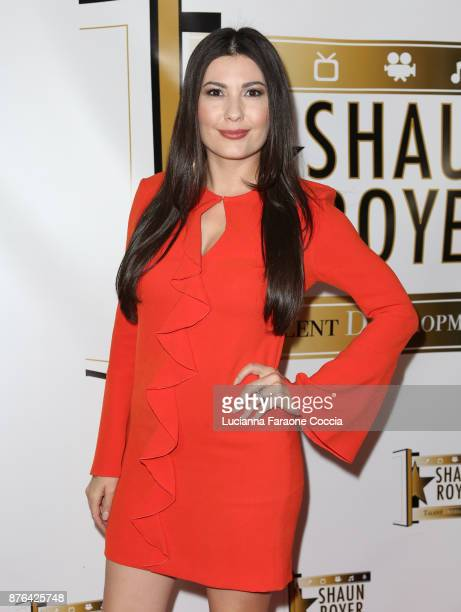 Actor Celeste Thorson attends Gente Unidos concert for Hurricane Relief in Puerto Rico at Whisky a Go Go on November 19 2017 in West Hollywood...