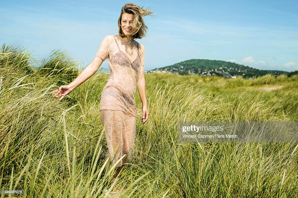 Actor Celine Sallette is photographed for Paris Match on June 13, 2015 in Cabourg, France.