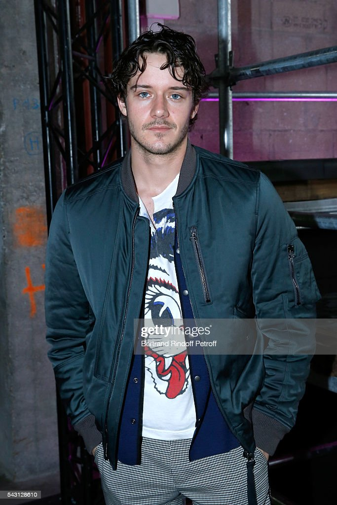 Actor Cesar Domboy attends the Lanvin Menswear Spring/Summer 2017 show as part of Paris Fashion Week on June 26, 2016 in Paris, France.