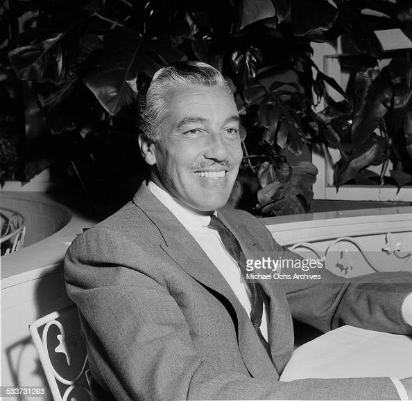 Actor Cesar Romero attends an event in Los AngelesCA