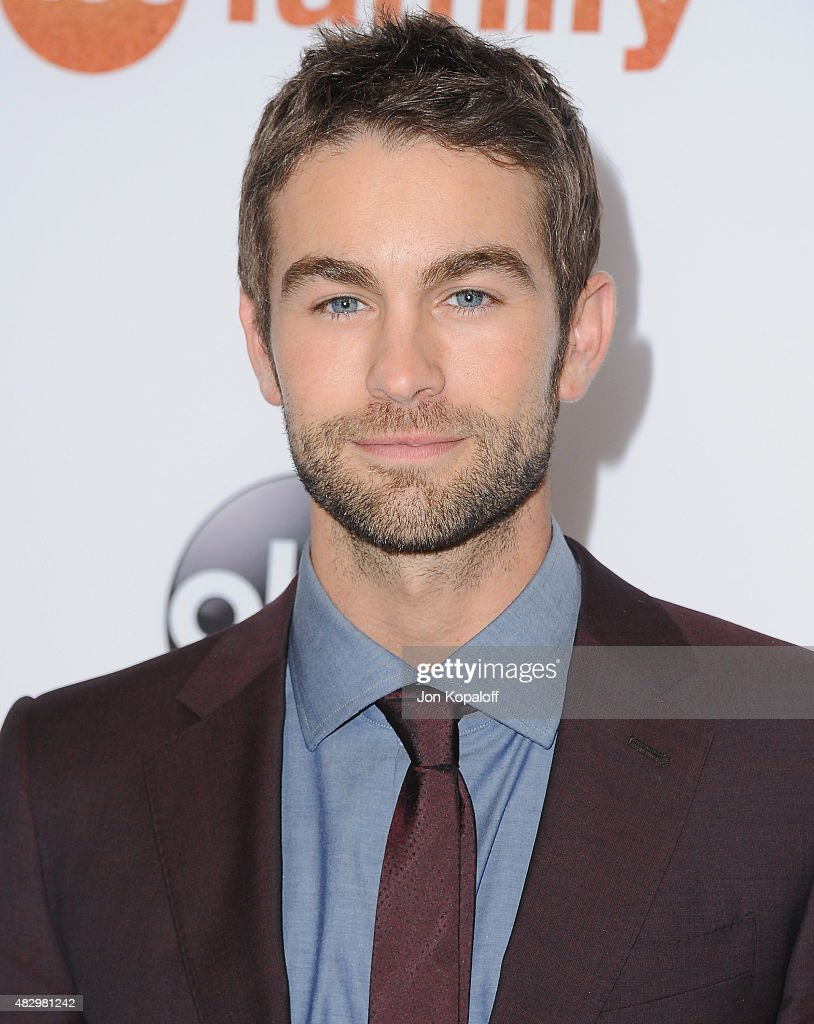Actor Chace Crawford arrives at Disney ABC Television Group's 2015 TCA ... Ed Westwick