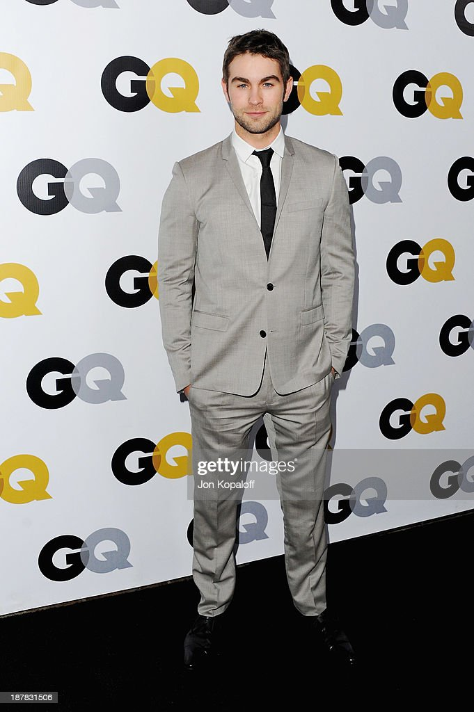 Actor Chace Crawford arrives at GQ Celebrates The 2013 'Men Of The Year' at The Wilshire Ebell Theatre on November 12, 2013 in Los Angeles, California.