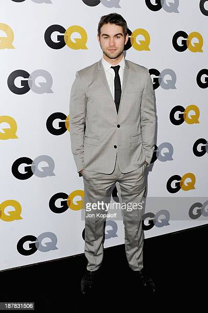 Actor Chace Crawford arrives at GQ Celebrates The 2013 'Men Of The Year' at The Wilshire Ebell Theatre on November 12 2013 in Los Angeles California