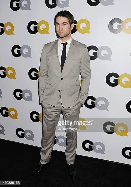 Actor Chace Crawford arrives at the 2013 GQ Men Of The Year Party at The Ebell of Los Angeles on November 12 2013 in Los Angeles California