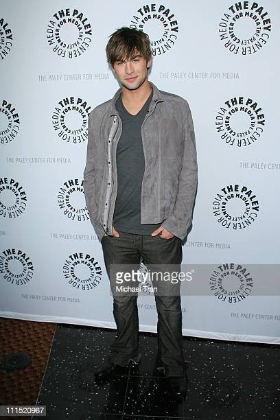 Actor Chace Crawford arrives at the 25th Annual Williams S Paley TV Festival featuring 'Gossip Girl' held at Arclight Cinemas on March 22 2008 in...