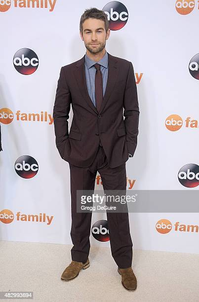 Actor Chace Crawford arrives at the Disney ABC Television Group's 2015 TCA Summer Press Tour on August 4 2015 in Beverly Hills California
