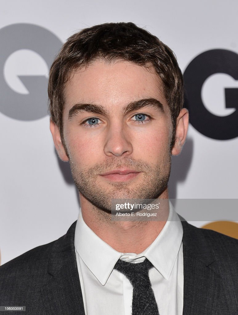 Actor <a gi-track='captionPersonalityLinkClicked' href=/galleries/search?phrase=Chace+Crawford&family=editorial&specificpeople=4238517 ng-click='$event.stopPropagation()'>Chace Crawford</a> arrives at the GQ Men of the Year Party at Chateau Marmont on November 13, 2012 in Los Angeles, California.