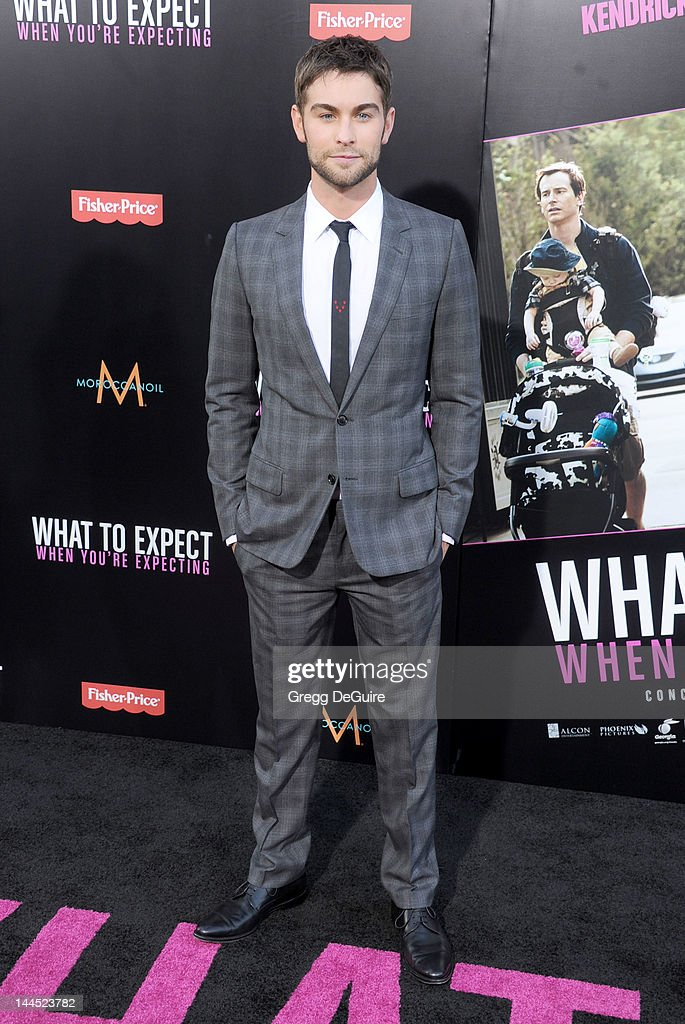 Actor <a gi-track='captionPersonalityLinkClicked' href=/galleries/search?phrase=Chace+Crawford&family=editorial&specificpeople=4238517 ng-click='$event.stopPropagation()'>Chace Crawford</a> arrives at the Los Angeles premiere of 'What To Expect When You're Expecting' at Grauman's Chinese Theatre on May 14, 2012 in Hollywood, California.