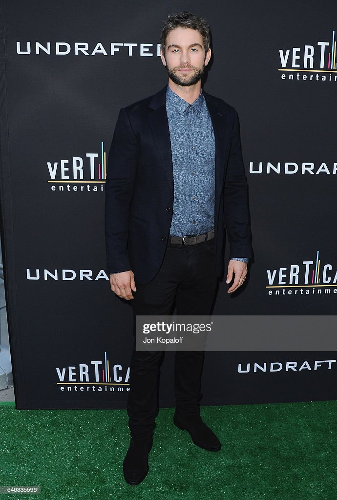 Actor Chace Crawford arrives at the Los Angeles Premiere 'Undrafted' at ArcLight Hollywood on July 11, 2016 in Hollywood, California.